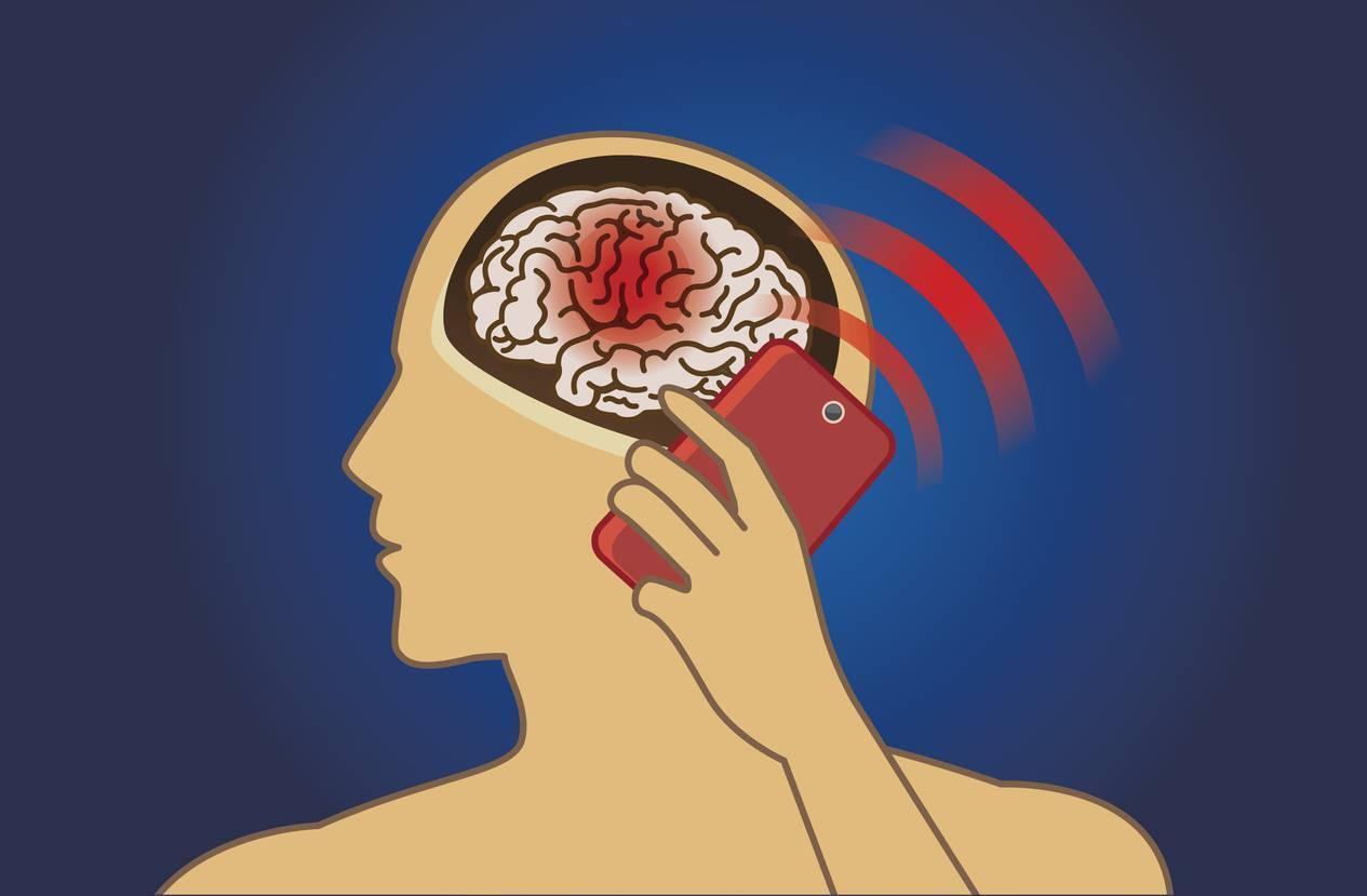 quels effets ondes electromagnetiques cerveau